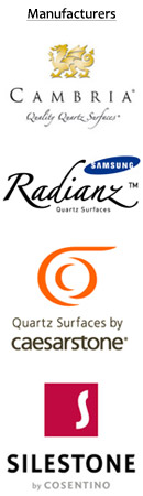 Quartz Countertop Logos