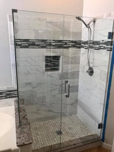 Shower remodel in Glendale AZ
